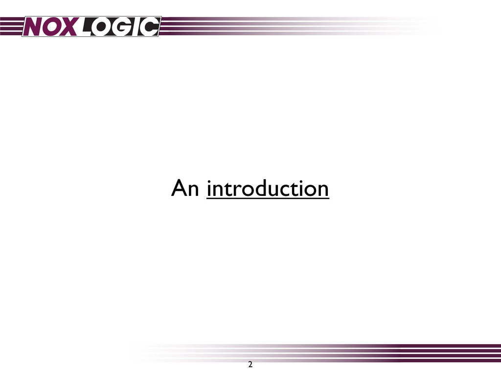 An introduction 2