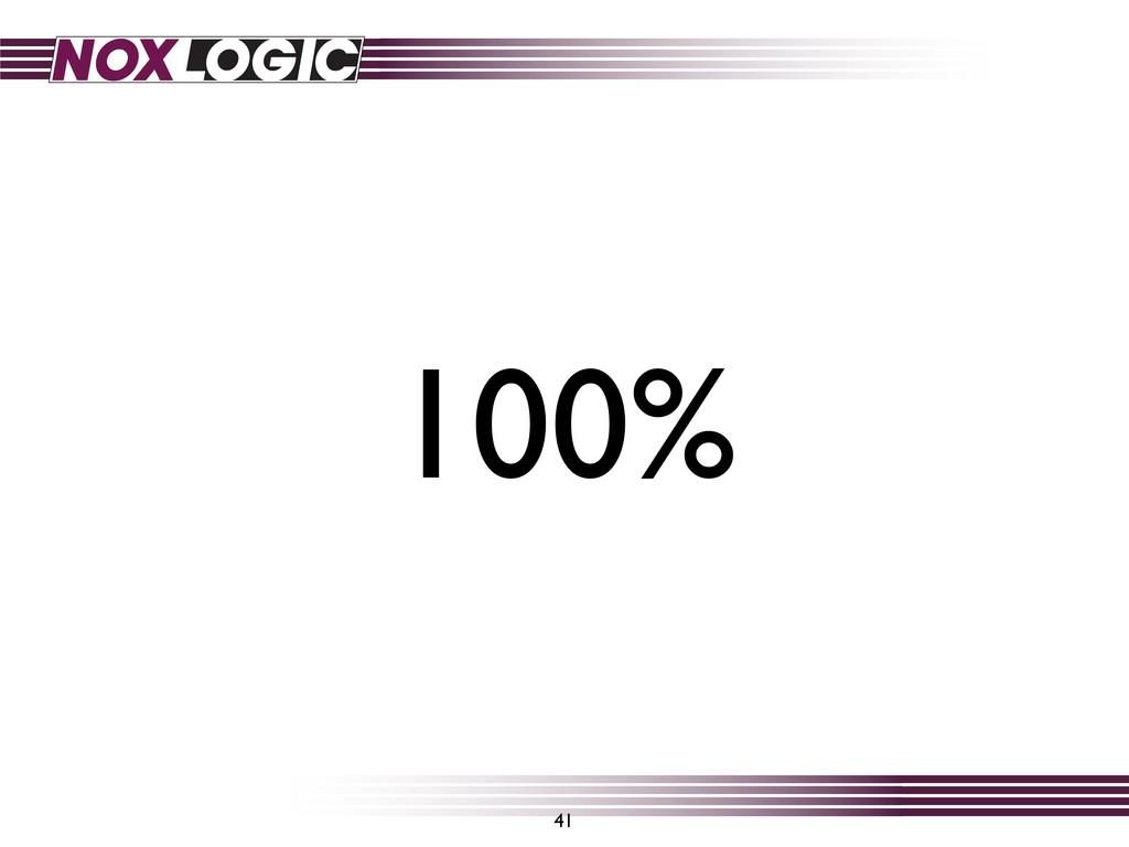41 100%