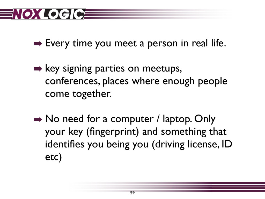 ➡ Every time you meet a person in real life. ➡ ...