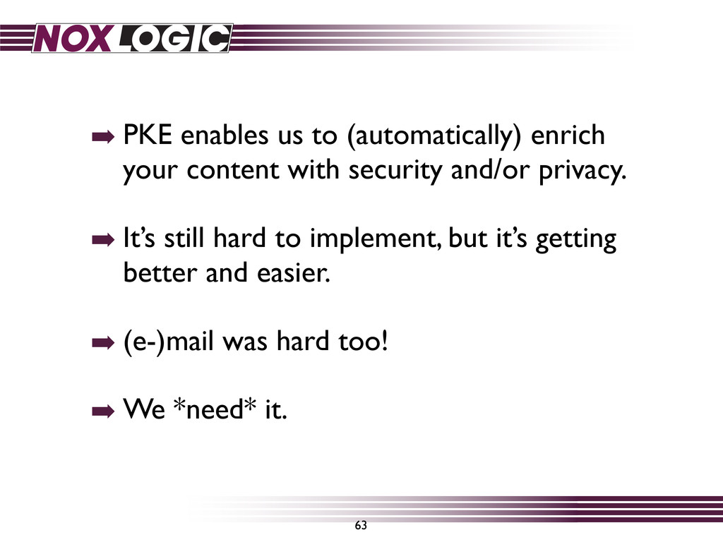 ➡ PKE enables us to (automatically) enrich your...