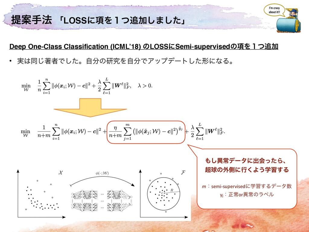 ఏҊख๏ ʮLOSSʹ߲Λ̍ͭՃ͠·ͨ͠ʯ Deep One-Class Classific...