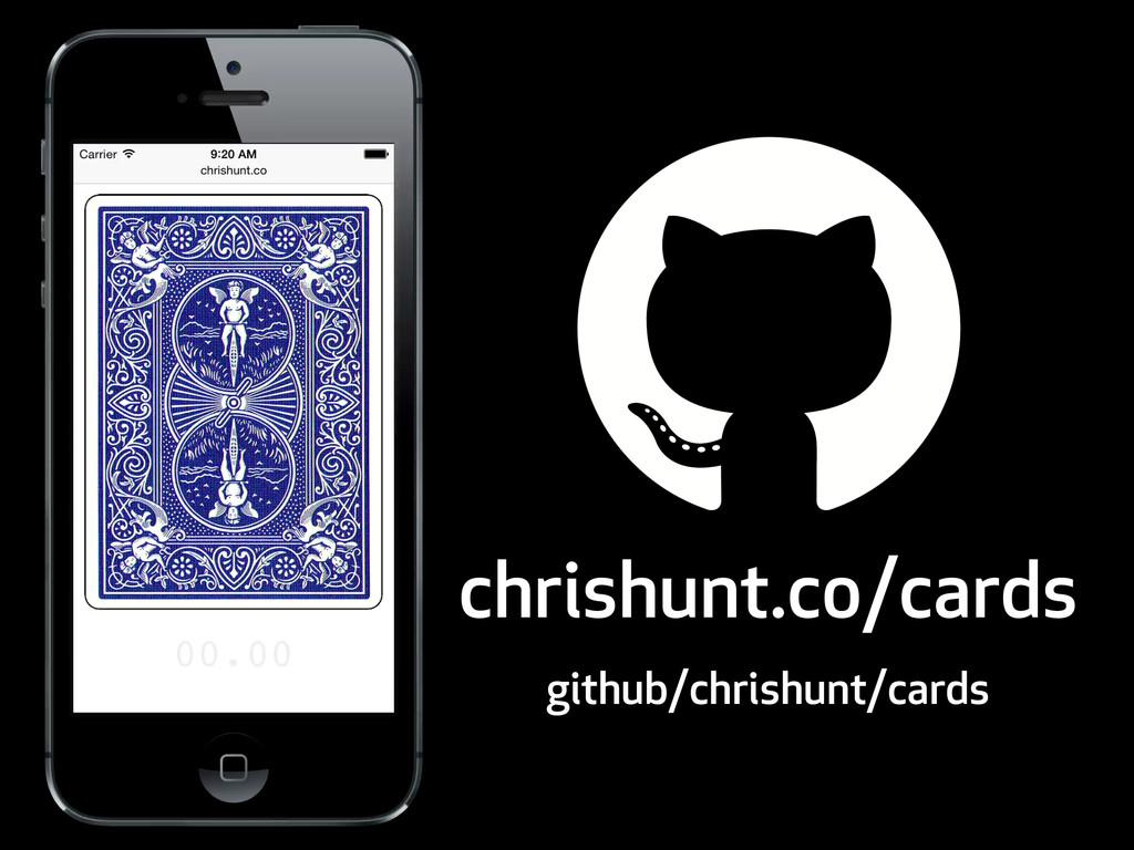 chrishunt.co/cards github/chrishunt/cards