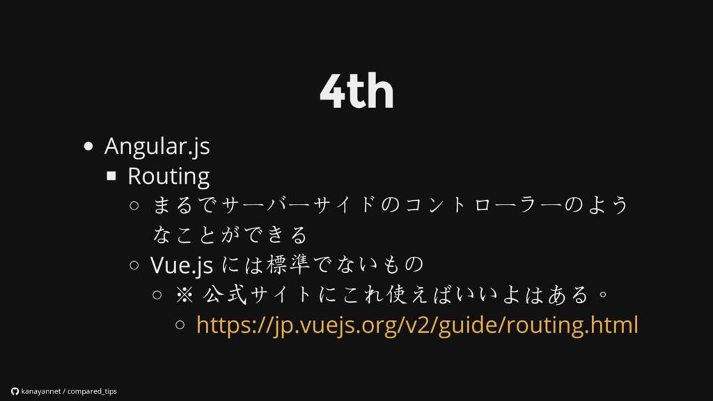 Angular.js Routing まるでサーバーサイドのコントローラーのよう なことができ...