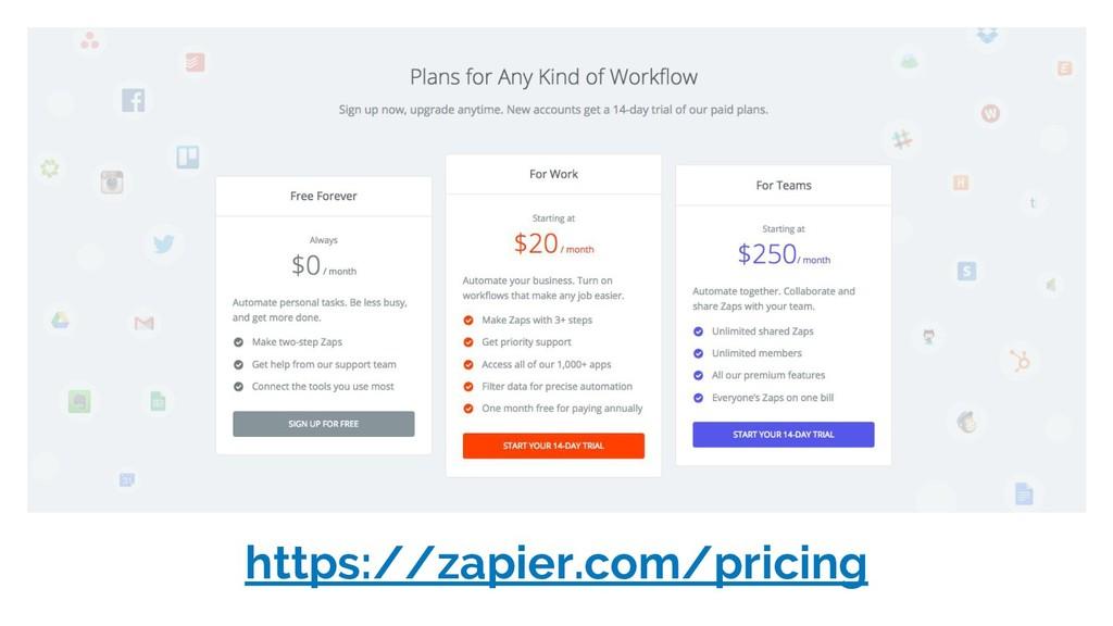 https://zapier.com/pricing