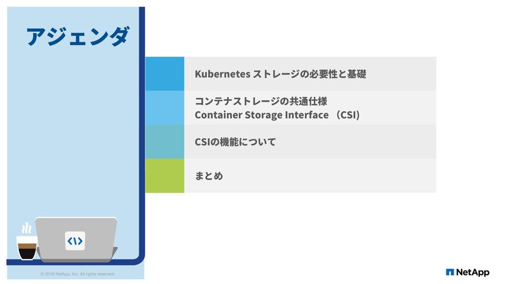2 Conclusion Kubernetes ストレージの必要性と基礎 コンテナストレージの...