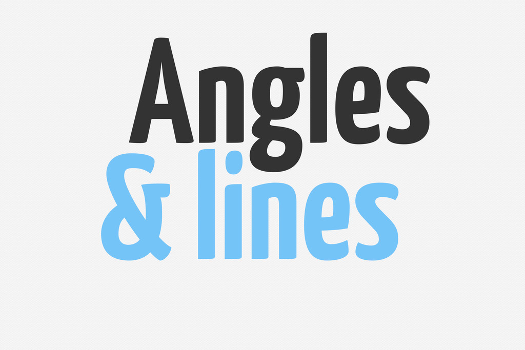 & lines Angles
