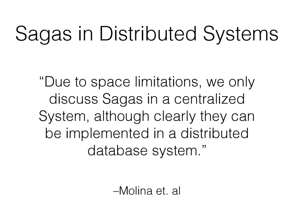 """–Molina et. al """"Due to space limitations, we on..."""