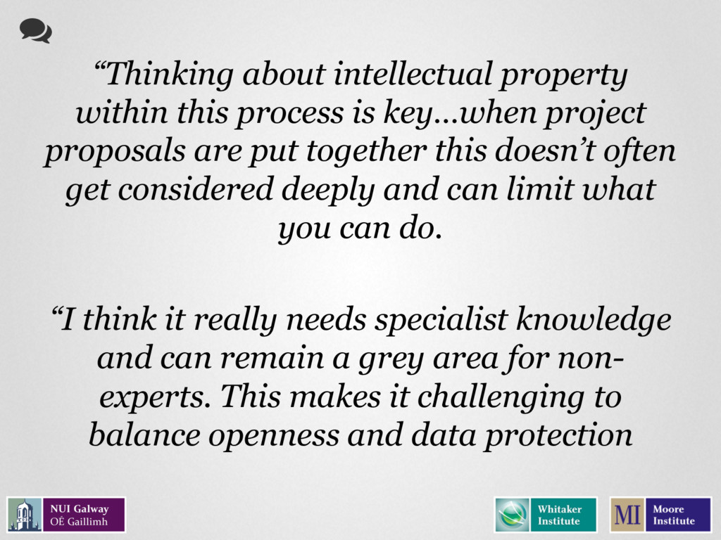 """Thinking about intellectual property within th..."