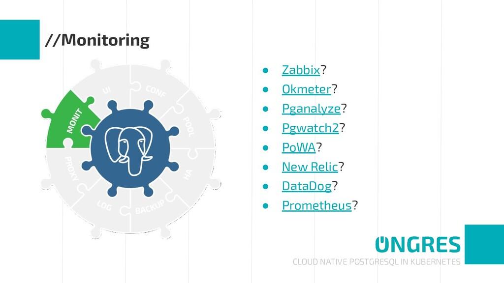 CLOUD NATIVE POSTGRESQL IN KUBERNETES //Monitor...