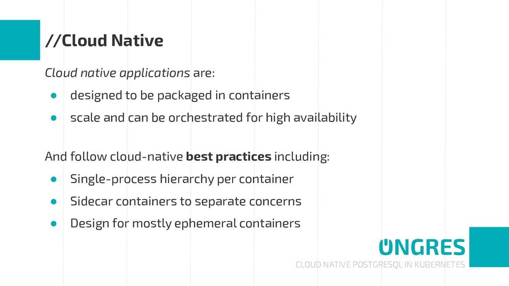 CLOUD NATIVE POSTGRESQL IN KUBERNETES //Cloud N...