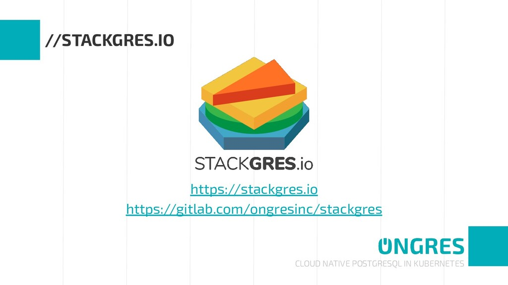 CLOUD NATIVE POSTGRESQL IN KUBERNETES //STACKGR...