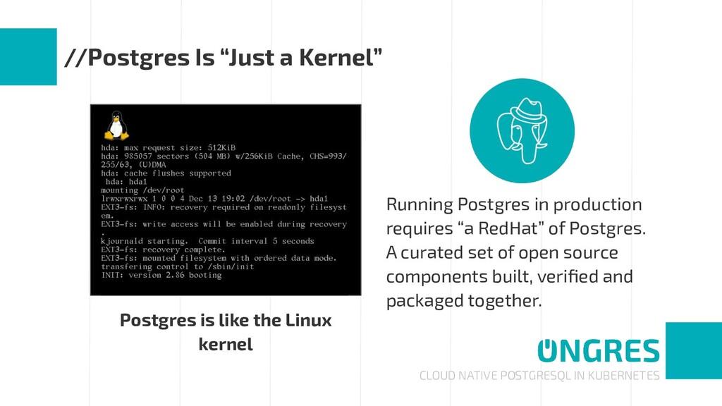 CLOUD NATIVE POSTGRESQL IN KUBERNETES //Postgre...