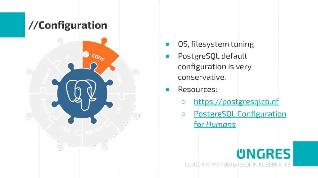 CLOUD NATIVE POSTGRESQL IN KUBERNETES //Configur...