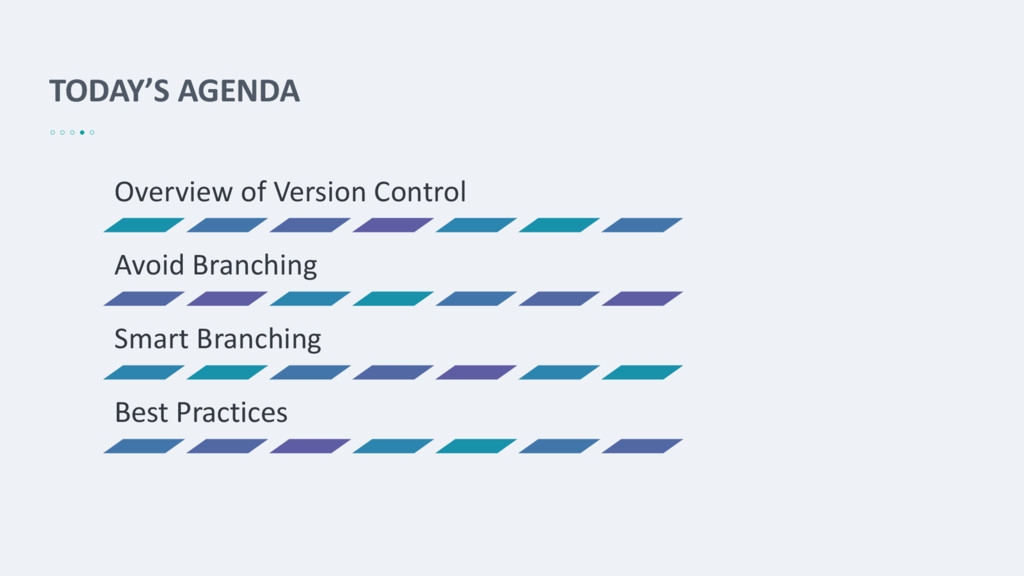 TODAY'S AGENDA Overview of Version Control Avoi...