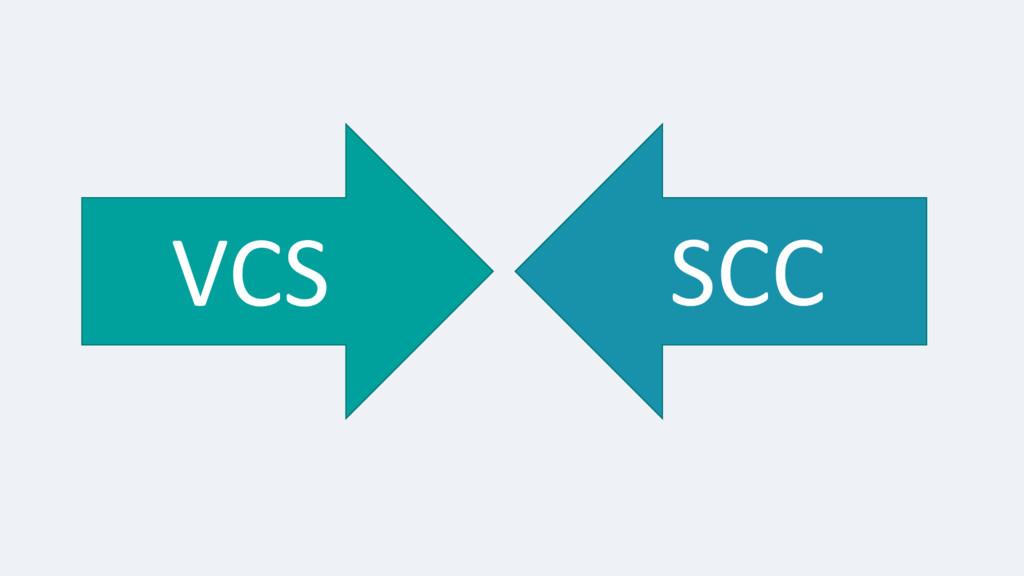 VCS SCC