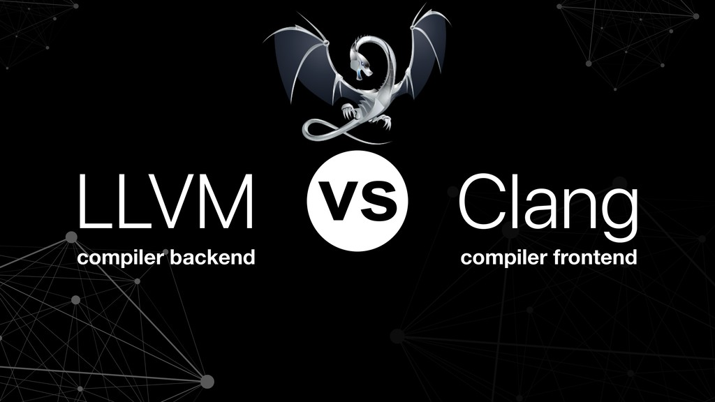 compiler backend compiler frontend LLVM Clang