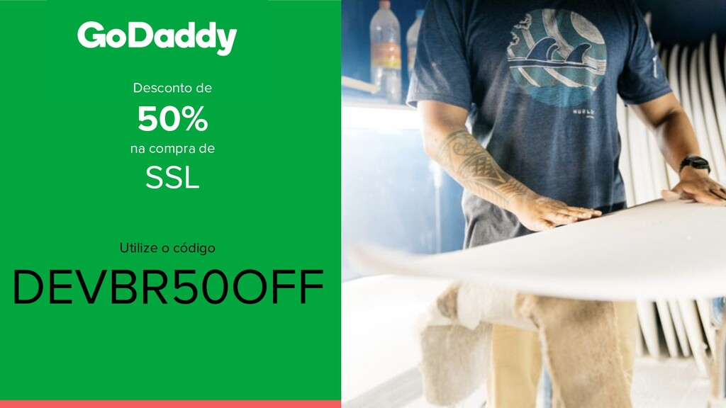 Desconto de 50% na compra de SSL Utilize o códi...