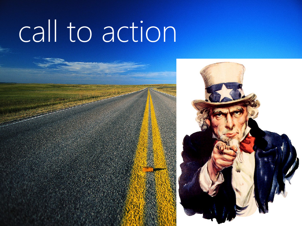 © Microsoft Corporation call to action