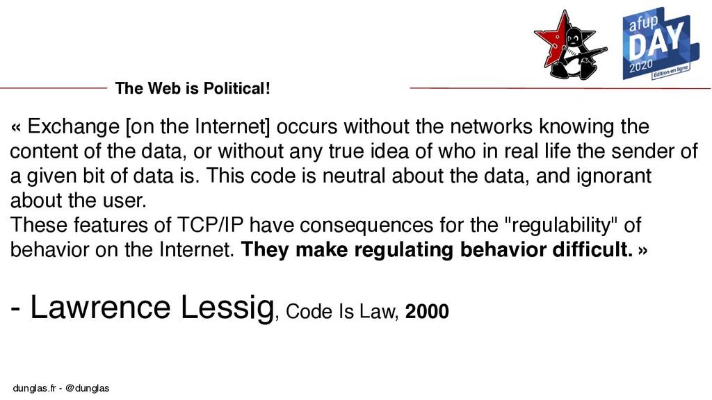 dunglas.fr - @dunglas The Web is Political! « E...