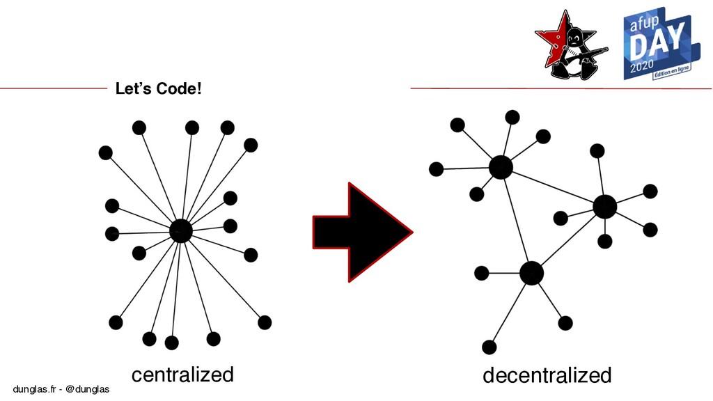 dunglas.fr - @dunglas Let's Code! decentralized...