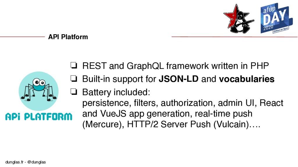 dunglas.fr - @dunglas API Platform ❏ REST and G...