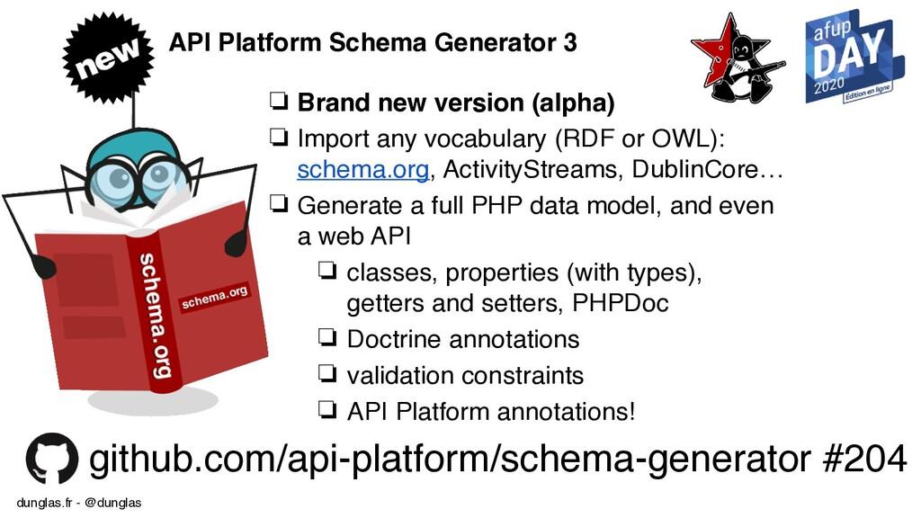 dunglas.fr - @dunglas API Platform Schema Gener...