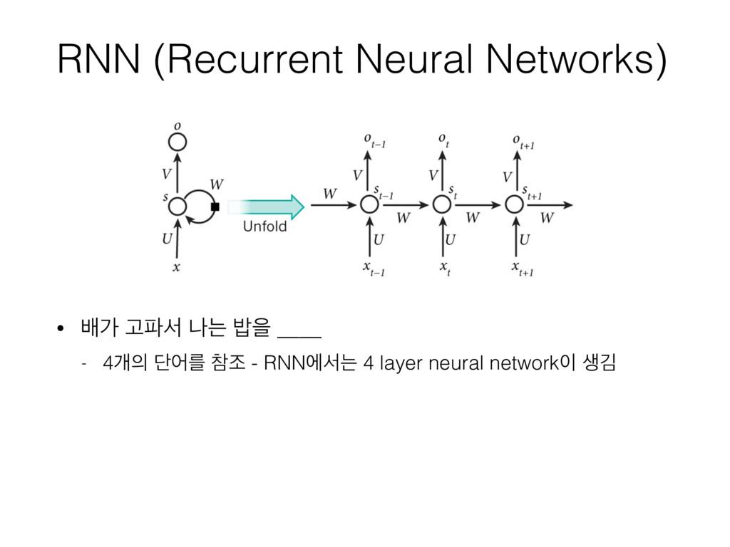 RNN (Recurrent Neural Networks) • ߓо Ҋࢲ աח ߏਸ ...