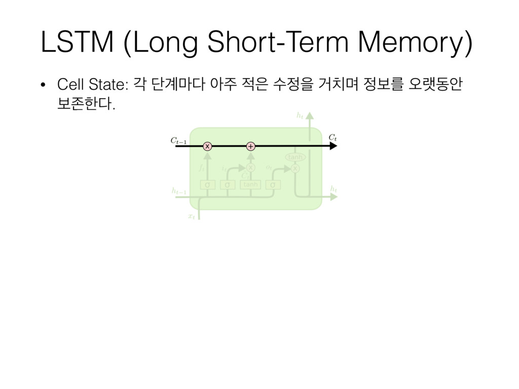 LSTM (Long Short-Term Memory) • Cell State: п ױ...