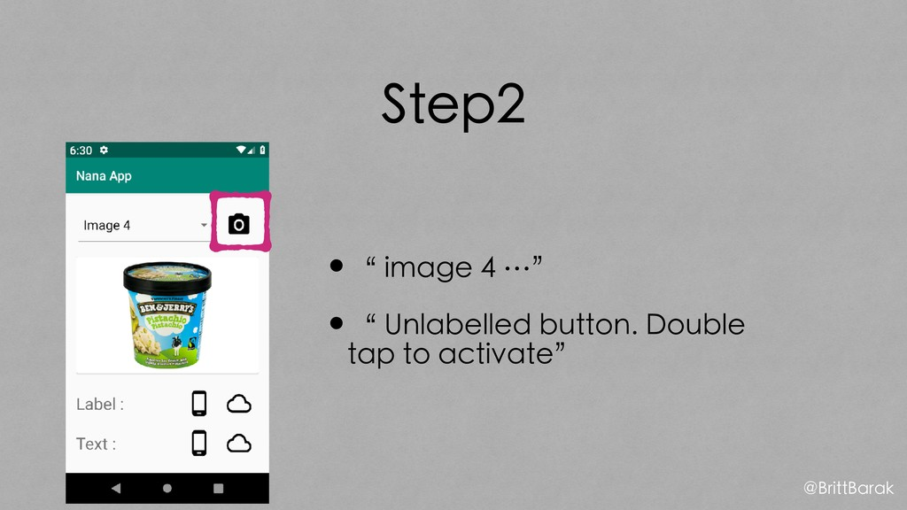 "Step2 •"" image 4 …"" •"" Unlabelled button. Doubl..."