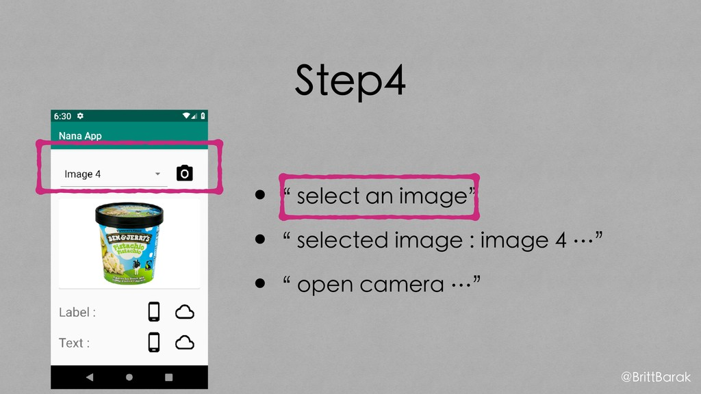 "Step4 •"" select an image"" •"" selected image : i..."