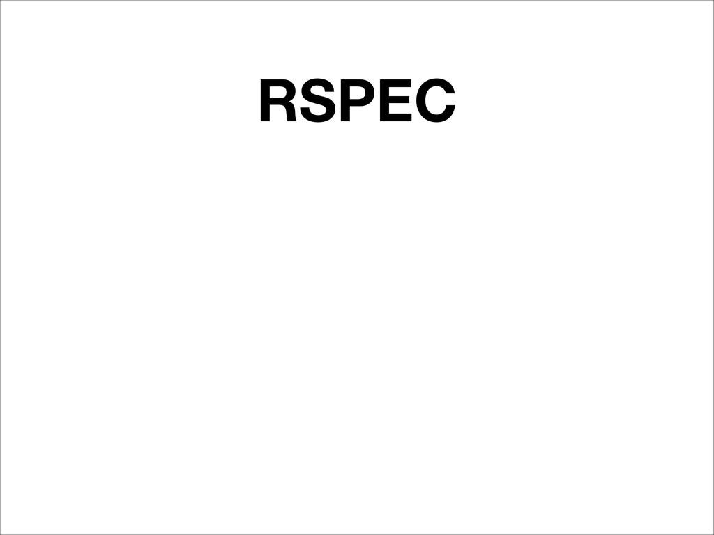 RSPEC