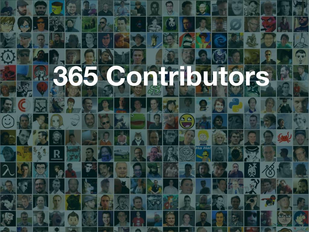 365 Contributors