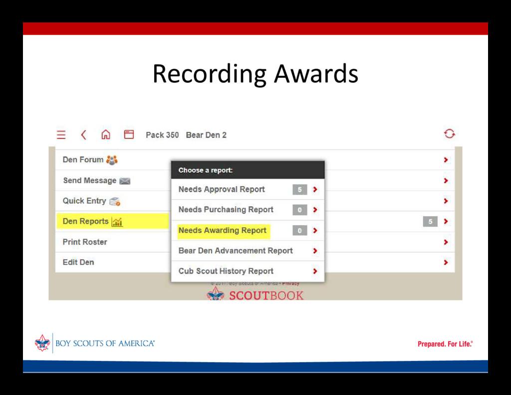 Recording Awards