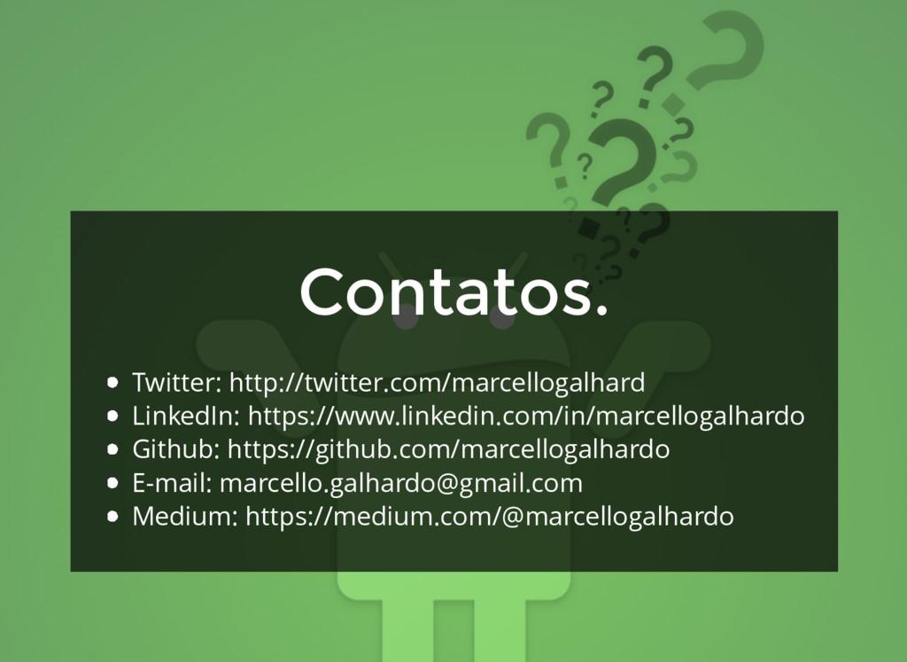 Twitter: http://twitter.com/marcellogalhard Lin...