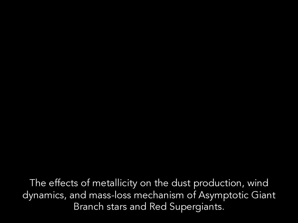 The effects of metallicity on the dust producti...