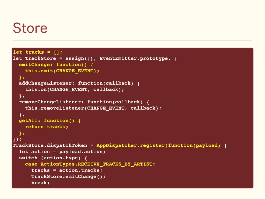 4UPSF let tracks = []; let TrackStore = assign(...