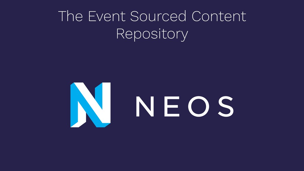 The Event Sourced Content Repository