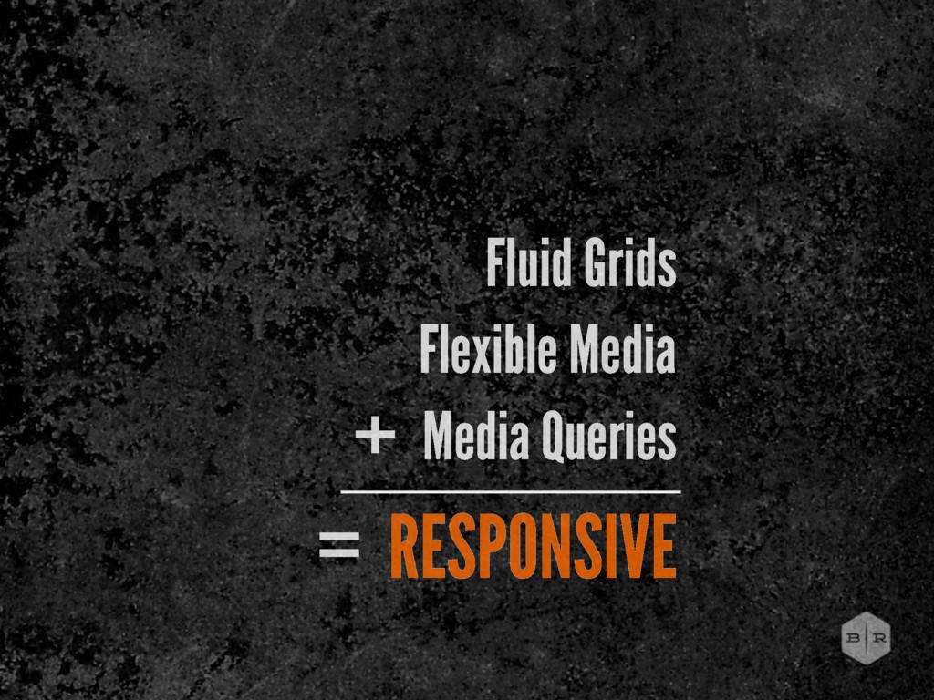 Fluid Grids Flexible Media Media Queries + RESP...