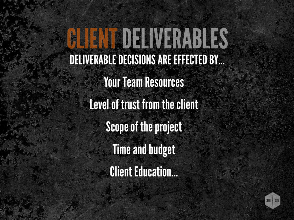 Your Team Resources Level of trust from the cli...