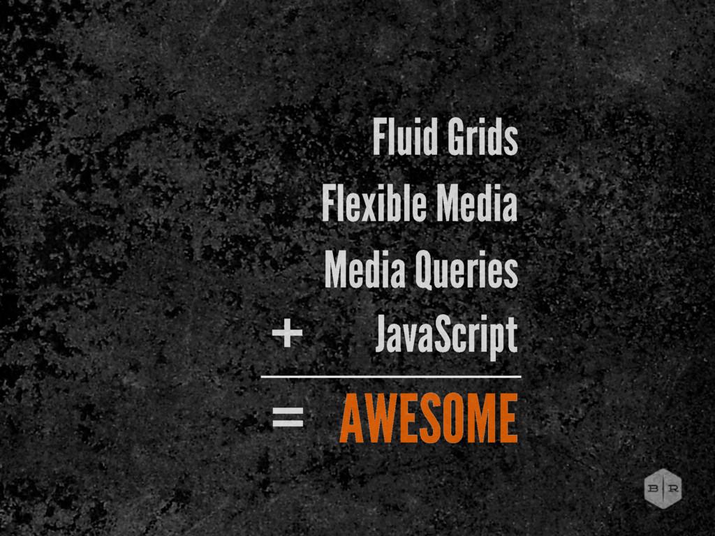Fluid Grids Flexible Media Media Queries JavaSc...