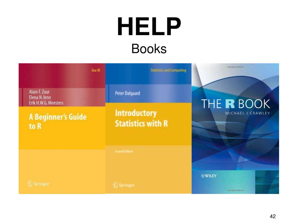 42 HELP Books