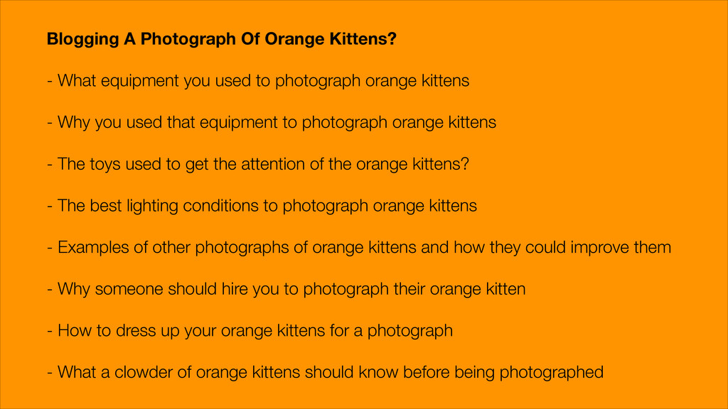 Blogging A Photograph Of Orange Kittens? ! - Wh...