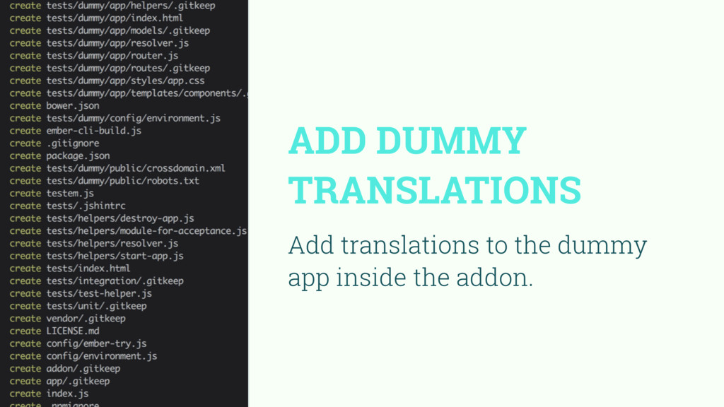 ADD DUMMY TRANSLATIONS Add translations to the ...
