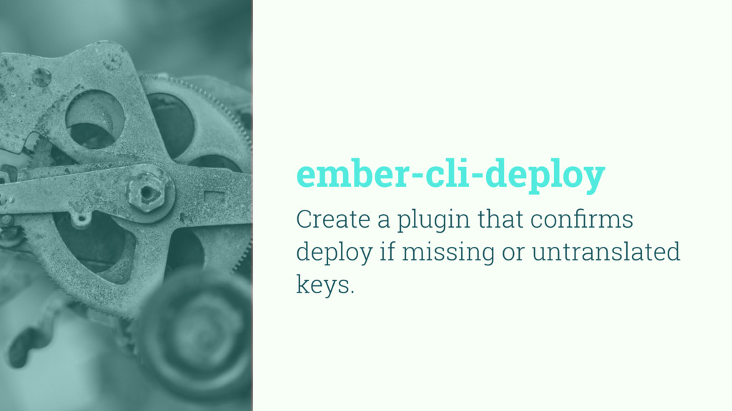 ember-cli-deploy Create a plugin that confirms d...
