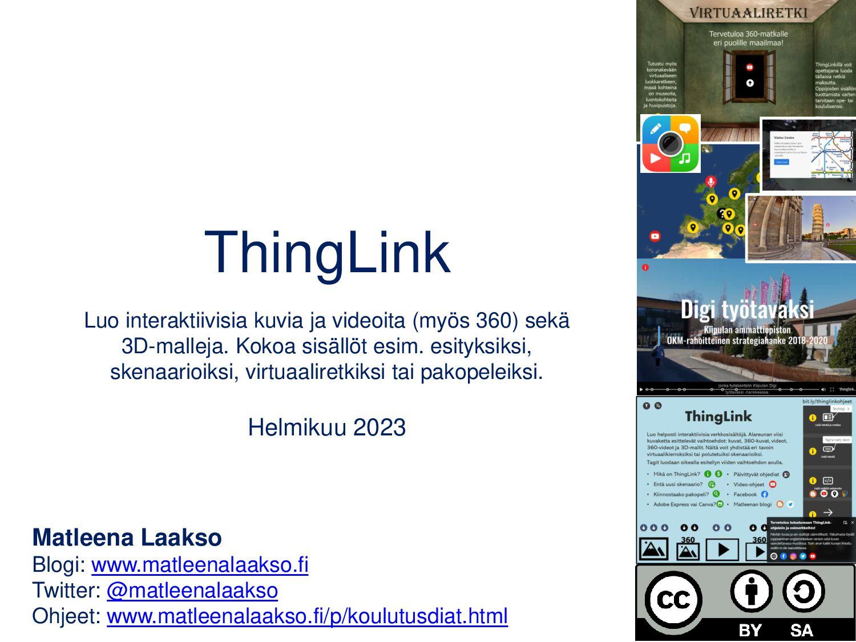 ThingLink Interaktiiviset kuvat ja videot (myös...