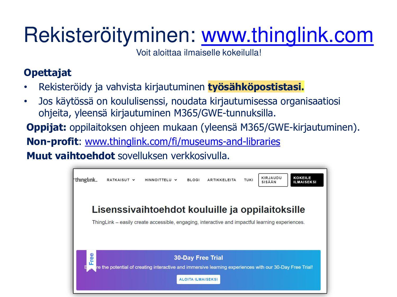 ThingLink etäopetuksessa Ulla Koivula: blog.thi...