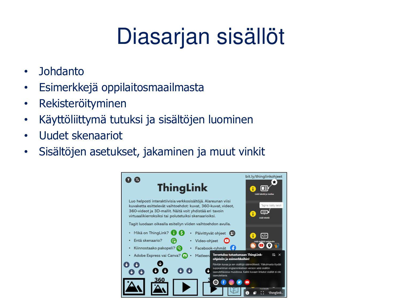 www.thinglink.com/edu Suomalais-amerikkalainen ...