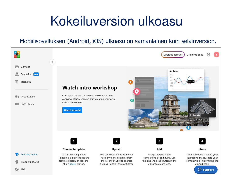 Vaihda uuteen Saimaa-käyttöliittymään Avaa prof...