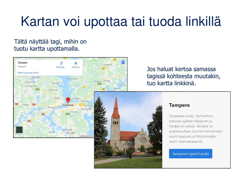 Virtuaaliretken luominen 1. Valitse pohjakuva/v...