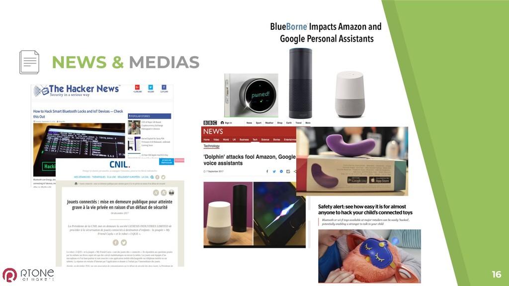 NEWS & MEDIAS 16
